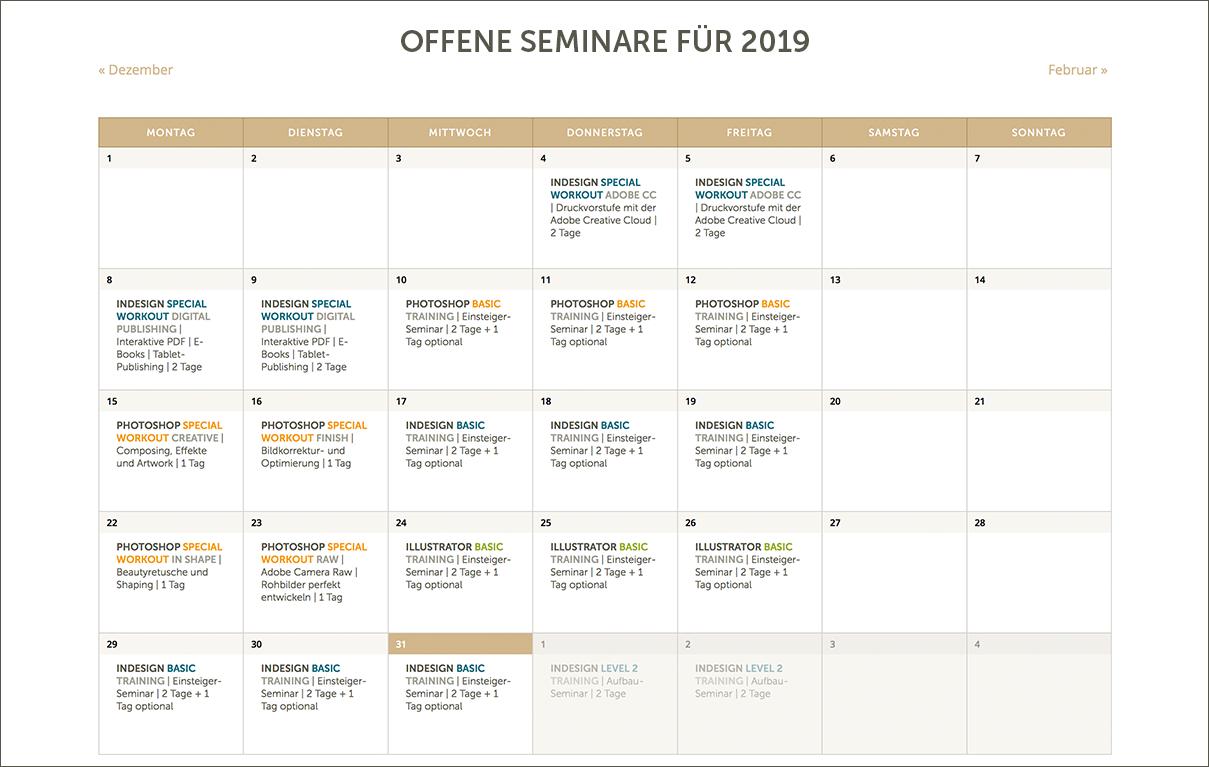 PIXELGYM-Kalender-Termine2019